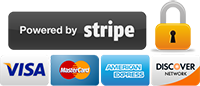 Powered by Stripe