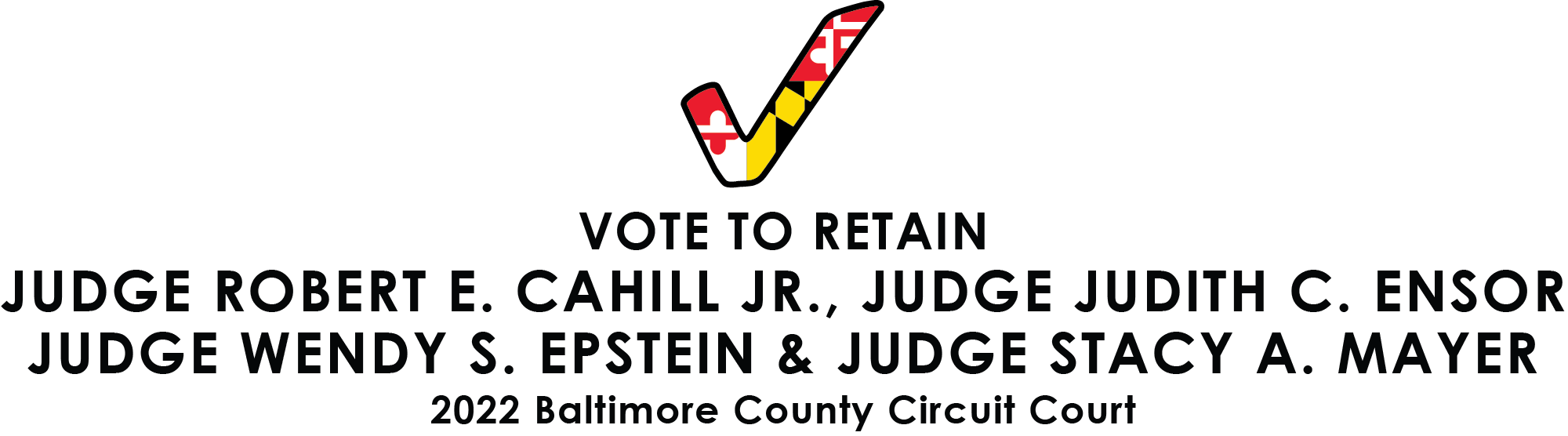Baltimore County Sitting Judges Slate